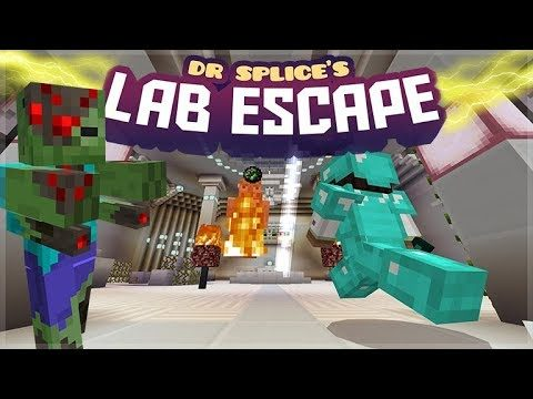 [LIVE] Minecraft Bedrock – Dr. Splice's Lab Escape Adventure Map (Better Together Update)