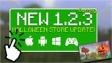 Minecraft 1.2.3 BEDROCK – OUT NOW! Halloween Update & Lighting Bug Fixed (Better Together Update)