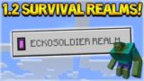 Minecraft 1.2 REALMS – Survival Chest Room (Better Together Update)