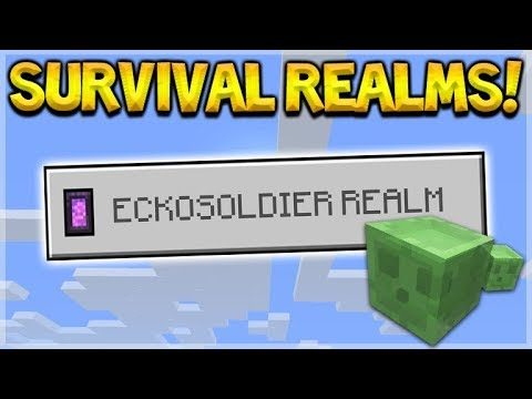 Minecraft 1.2 SURVIVAL REALMS – Nether Portal Hoping! (Better Together Update)