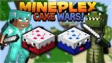 MINECRAFT CAKE WARS! – IT'S LIKE BED WARS BUT WITH CAKE!!! (Minecraft Bedrock)