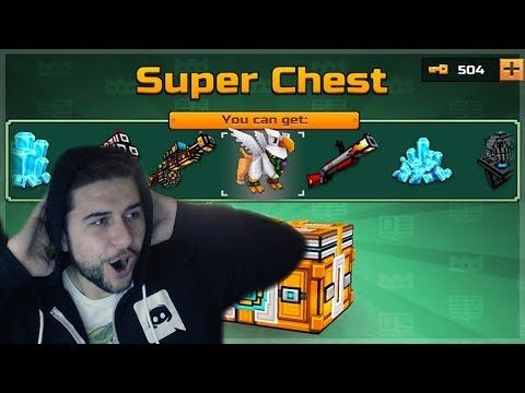 OMG NEW! SUPER CHEST CRATE OPENING! DID WE GET LUCKY?!? Pixel Gun 3D