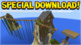 DOWNLOAD MY SPECIAL WORLDS! SOLDIER ADVENTURES & SURVIVAL ISLAND XBOX WORLDS!