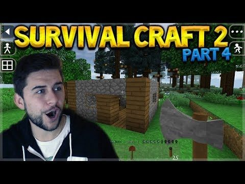 SurvivalCraft 2 – WE BUILT A HOUSE & FOUND WEREWOLVES! Let's Play (4)