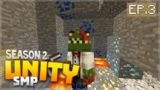 THE LUCKIEST MINING ADVENTURE EVER!! EP.3 – Minecraft Pocket Edition Unity Realm SMP Season 2