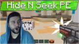 HIDE AND SEEK POCKET EDITION – WHEN MINECRAFT MEETS PIXEL GUN 3D!!