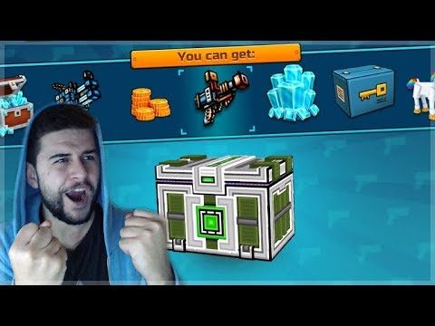 HUGE CHEST OPENING! SUPER LOTTERY, CLAN CHEST & LUCKY CHESTS! Pixel Gun 3D