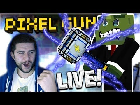 [LIVE] LOTTERY CHESTS OPENING & SUBSCRIBER BATTLES! | Pixel Gun 3D