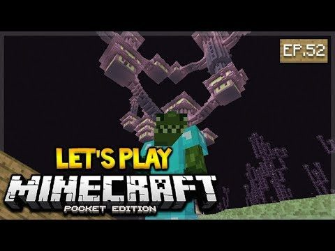 🔴 LIVE NOW MCPE 1.2 Let's Play Minecraft Pocket Edition: The END City  52