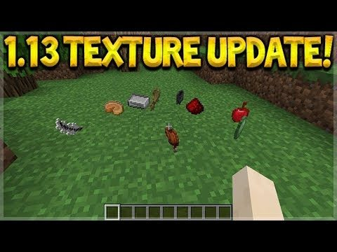 MINECRAFT 1.13 NEW TEXTURES UPDATE – EVERYTHING HAS CHANGED!