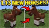 Minecraft 1.13 Snapshot 17w45a – NEW HORSES & COMMAND CHANGES (1.13 Update)