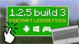 Minecraft 1.2.5 BETA – NEW Beta Build 3 Custom Skins Patched & Minecraft License!
