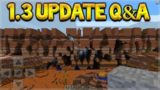 Minecraft Bedrock – UPDATE 1.3 Farlands Dimension & Baby Parrots! Q&A (Better Together Update)
