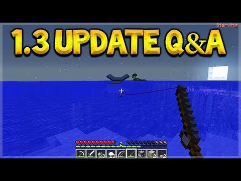 Minecraft Bedrock – UPDATE 1.3 NEW Mob Drops & NEW Combat Update Q&A (Better Together Update)
