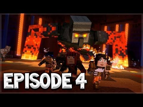 "Minecraft Story Mode: SEASON 2 – Episode 4 – ""BELOW THE BEDROCK"" Game-play!!!"