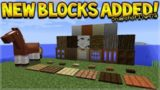NEW BLOCKS ADDED!! Minecraft 1.13 Update – Snapshot 17w47a NEW Blocks, Items & Name Changes!