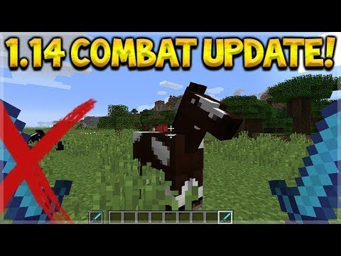 NEW COMBAT UPDATE COMING!! Minecraft 1.14 – More Combat Changes Happening (Minecon 2017)