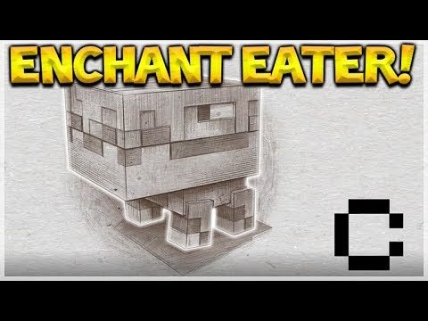 NEW ENCHANTMENT EATER MOB!! Minecraft 1.14 NEW The Great Hunger Mob (Minecon 2017)