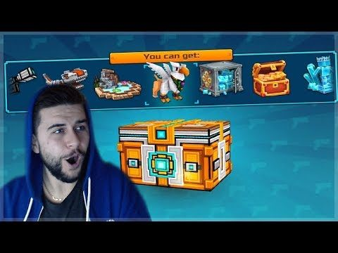 OMG! SUPER CHEST CRATE OPENING!! DID WE GET LUCKY!?!? Pixel Gun 3D