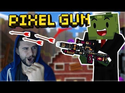 OMG! WE CRAFTED THE VAMPIRE HUNTER EPIC SNIPER WEAPON! Pixel Gun 3D