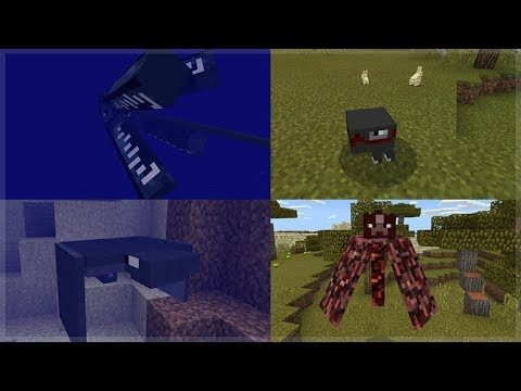 SNEAK PREVIEW! NEW Minecraft 1.14 Mobs Update (Concept Creation)