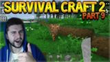 SurvivalCraft 2 – THE FIRST SUBSCRIBER CHALLENGES! WE FINALLY DID IT! Let's Play (9)