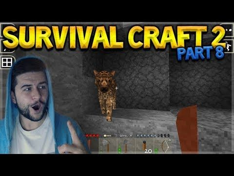SurvivalCraft 2 – THE GREAT CAVE ADVENTURE! WE FOUND IRON! Let's Play (8)
