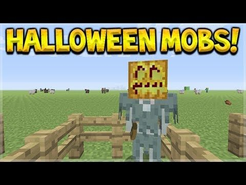 YOU CAN ONLY GET THESE SPECIAL MOBS IN MINECRAFT ON HALLOWEEN!