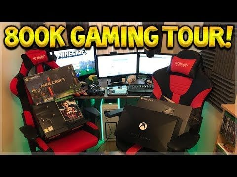 800,000 SUBSCRIBERS! – FULL GAMING SETUP TOUR! SPECIAL VIDEO!