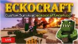 ECKOCRAFT CUSTOM SURVIVAL! – MINECRAFT PC SERVER 1.12.2+ (eckocraft.mcph.co)