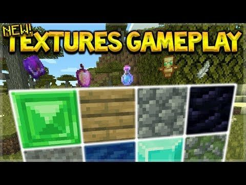 EVERYTHING IN MINECRAFT HAS CHANGED!! OFFICIAL NEW TEXTURES EARLY GAMEPLAY SHOWCASE!