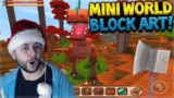 IS THIS GAME THE NEW MINECRAFT POCKET EDITION!! (Mini World Block Art!!)