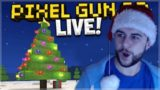 🔴 [LIVE] NEW 13.1.0 CHRISTMAS UPDATE & FORT SIEGE BATTLES W/ SUBSCRIBERS | Pixel Gun 3D