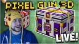LIVE NOW! – HUGE SUPER CHEST OPENINGS! & 1V1 SUBSCRIBERS DUELS! | Pixel Gun 3D