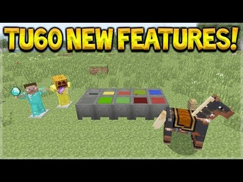 LIVE NOW! – Minecraft Console Edition – NEW Title Update 60 Exploring ALL Features!