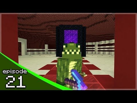 Minecraft Bedrock – Soldier Adventures Season 3 – The Nether Hub! Episode 21