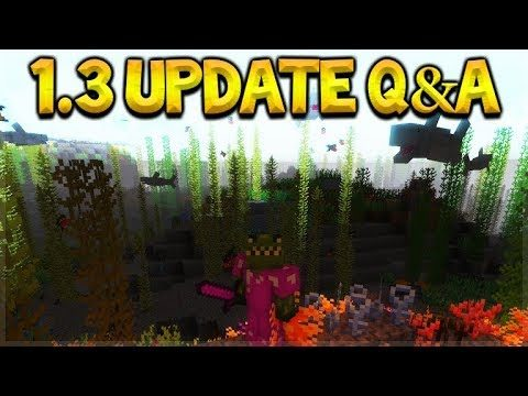 Minecraft Bedrock – UPDATE 1.3 NEW Modding & Custom Superflat Worlds Q&A (Better Together Update)