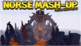 MINECRAFT NORSE MYTHOLOGY – New Mash-Up Pack First EXPERIENCE (Minecraft Console Edition)