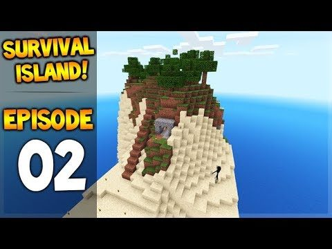 Minecraft Pocket Edition – Survival Island – The Miners Cave! Episode 2
