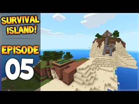 Minecraft Pocket Edition – Survival Island – Getting Things Done! Episode 5