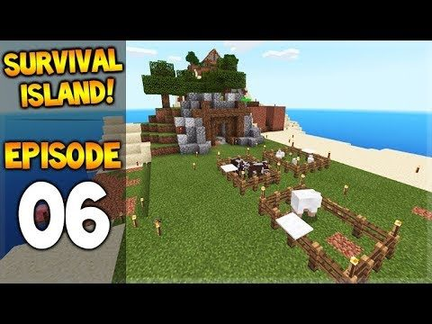 Minecraft Pocket Edition – Survival Island – Magic Animal Island! Episode 6