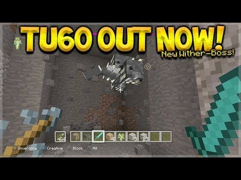 Minecraft XB1/PS4 – NEW Title Update 60 RELEASED! NEW Op Wither-Boss Added (Full Changes)