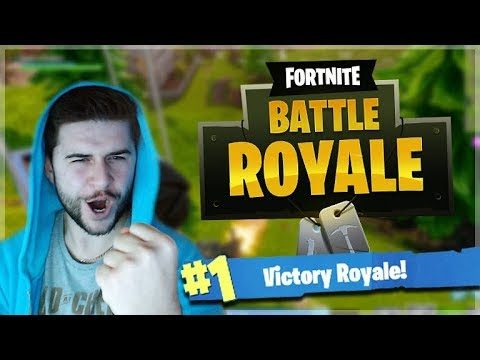 MY FIRST VICTORY ROYALE!! SLOW AND STEADY WINS THE RACE
