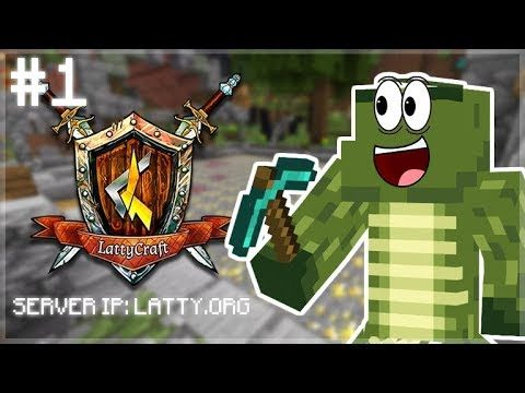 OMG!! 15x ORE MULTIPLIER! MADE ME SO RICH!! LattyCraft Episode 1(Minecraft Miners Game-Mode)