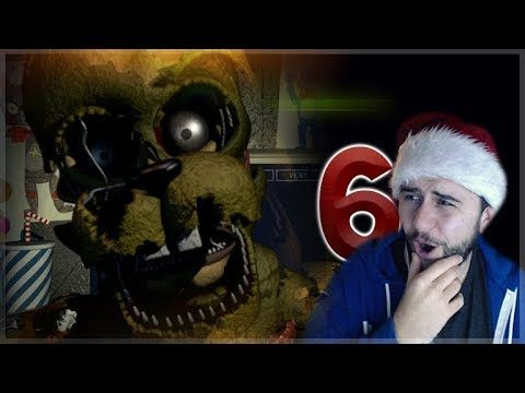 OMG! I HATE JUMPSCARES!! FIVE NIGHTS AT FREDDY'S 6! (Freddy Fazbear's Pizzerria Simulator) Episode 2