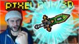 OMG! WE CRAFTED THE EPIC CHIP SWORD CLAN WEAPON! Pixel Gun 3D