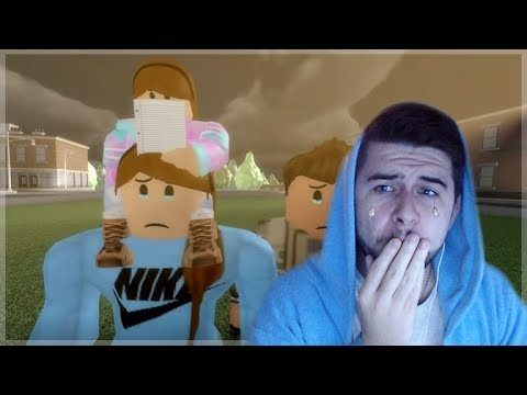 "REACTING TO A SAD ROBLOX MOVIE! ""The Last Guest"" Heartbreaking Story!!"