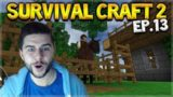 Survival Craft 2 – THE HORSE PEN & FINISHED HOUSE DESIGN! Let's Play (13)