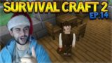 Survival Craft 2 – WE FINALLY BUILT SOME FURNITURE! & UNLUCKY PETS! (14)