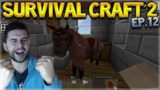 Survival Craft 2 – WE TAMED A HORSE! & UNEXPECTED ENDING!! Let's Play (12)